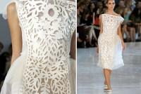 lasercut dress