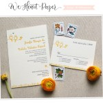 wedding invitations birds