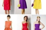 Fiesta Bridesmaids Dresses