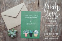 foodie-wedding-invites by Yours is the Earth