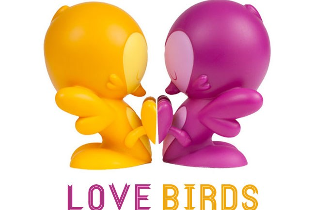 love-birds-cake-topper kronk vinyl toy
