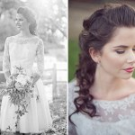 lace sleved wedding dress