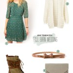 What to Wear to a Fall Barn Wedding