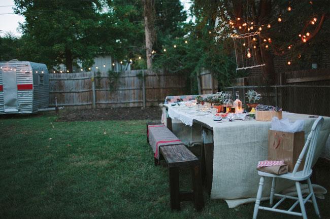 A Surprise Backyard Proposal  Green Wedding Shoes  Weddings Fashion Lifestyle  Trave