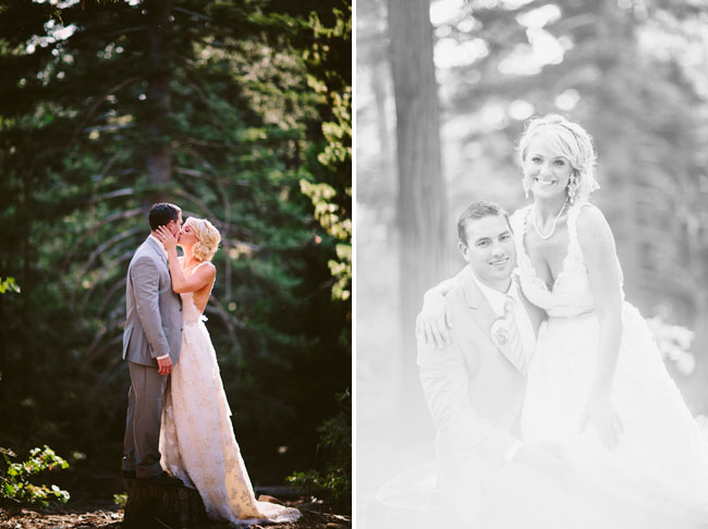 Rustic Chic Lake Arrowhead Wedding Jennifer  Kyle