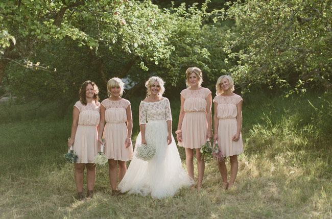 Sweden Apple Orchard Wedding Therese  OskarTure