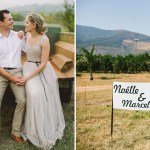 pomegranite farm wedding