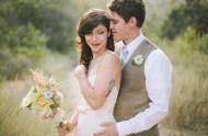 bride and groom elopement