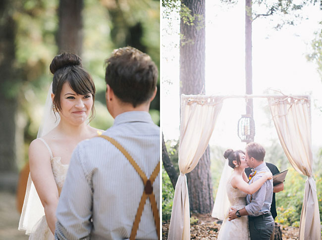 wooded ceremony