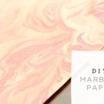 DIY Marbled Paper