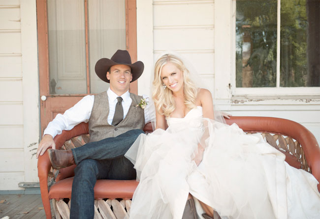 Country Western Wedding Jamie  Scott  Green Wedding