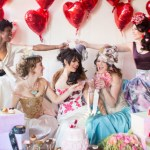 valentines bridal party