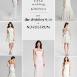 nordstrom lace wedding dresses