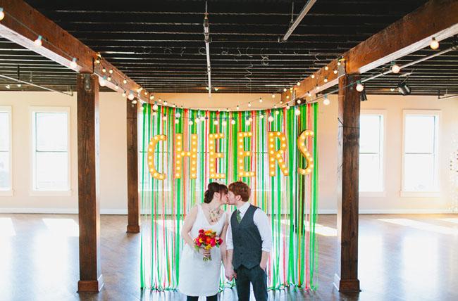 st. patricks day weddding