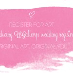UGallery Wedding Registry