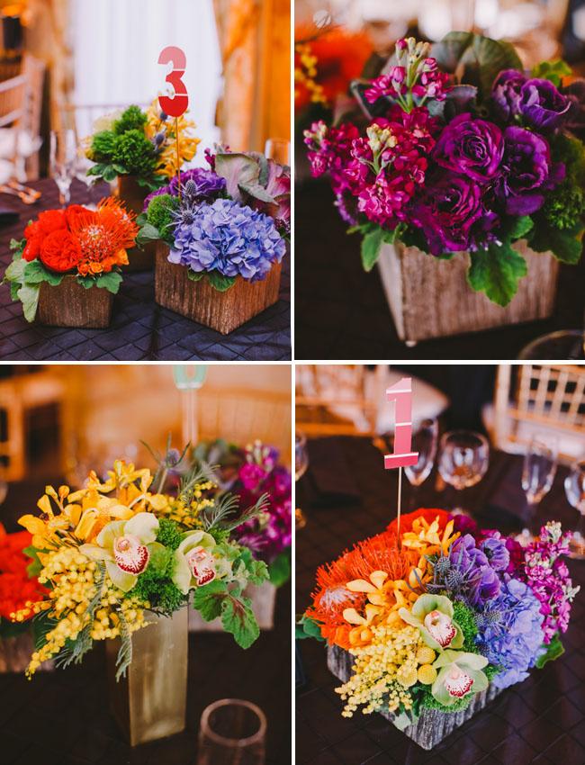 Whimsical Rainbow Wedding Lisa  Tien