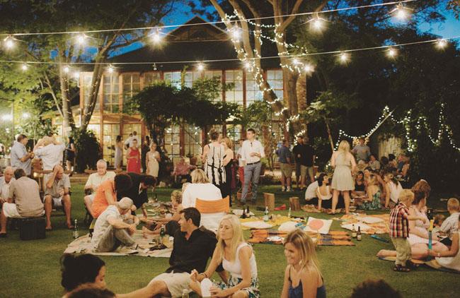 Backyard Picnic Wedding: Arlene + Jake