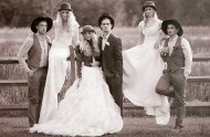 1800s inspired wedding