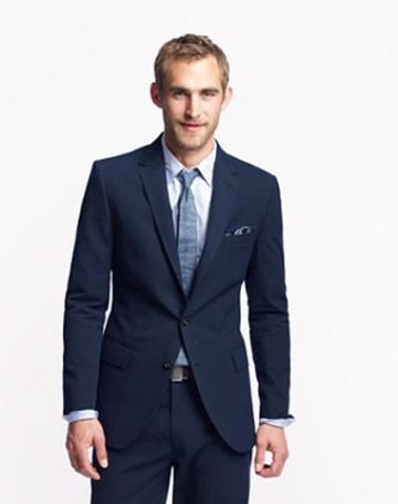 Ludlow Suit Jacket in Japanese Seersucker