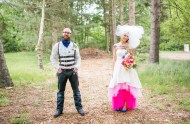 glitter unicorn wedding