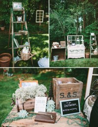 Rustic Chic Backyard Wedding: Michelle + Jimmy | Green ...