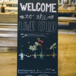 west elm flower party