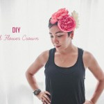 DIY Silk Flower Crown