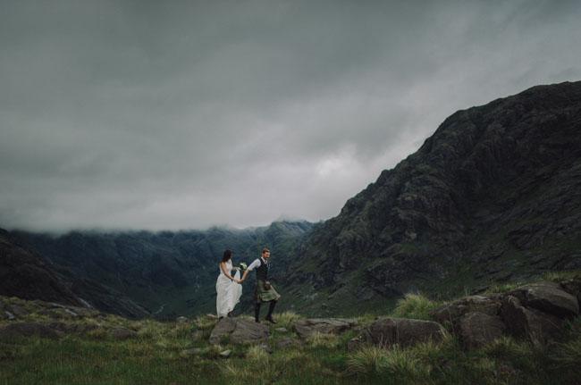 Isle of Skye elopement