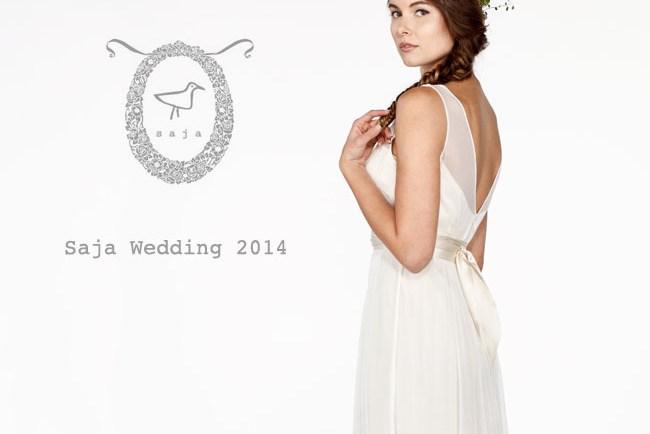 6446c1d2ddf Saja 2016 Wedding Dress Collection - Green Wedding Shoes