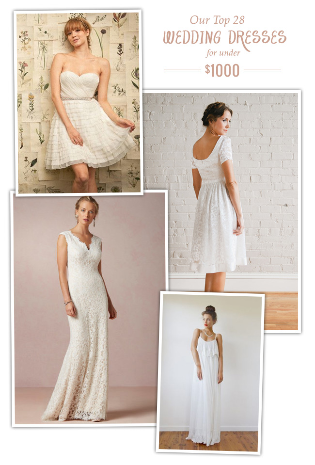 Wedding Gowns Under 300 52 Lovely Our Top Favorite Wedding