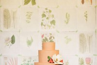 botanical dessert backdrop