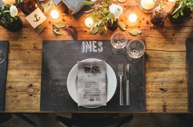 Tablescape Ideas Chalkboard Placemats Chalkboard Paint Table Dinnertime Menu