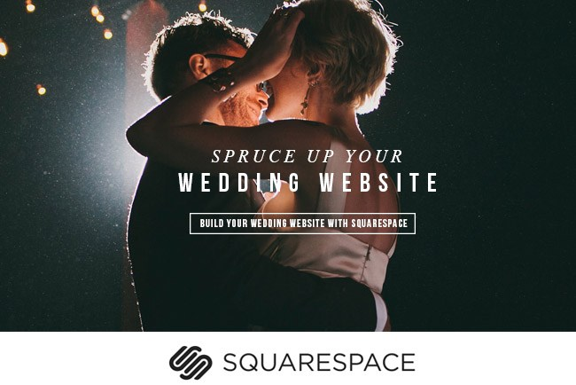 Create a custom wedding website with squarespace green wedding shoes build your wedding website with squarespace junglespirit Choice Image