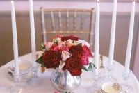 DIY Romantic Centerpiece with Roses