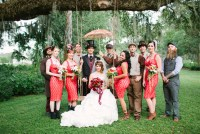 steampunk wedding party