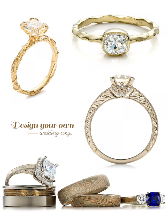 Design Your Own Wedding Ring 41 Amazing design your own wedding