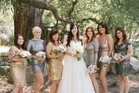 sparkly bridesmaids