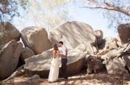 western ranch wedding