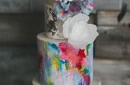 art inspired cake