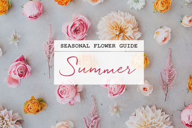 Wedding Flowers By Season 61 Great Seasonal Flower Guide Summer