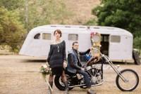 motorcycle elopement inspiration