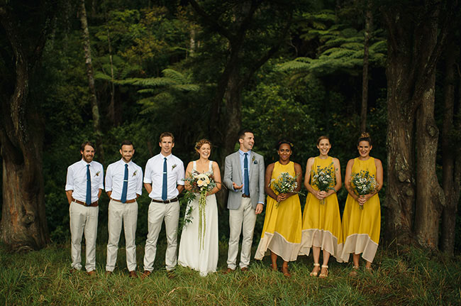 New Zealand Campground Wedding