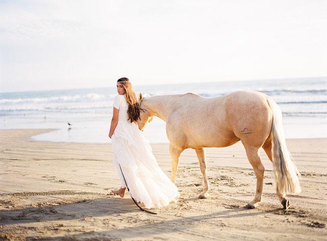Seaside Bohemian Bridal Session Inspiration