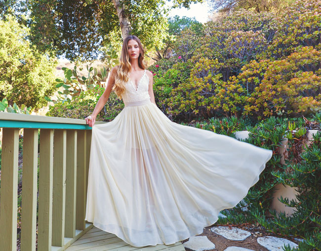 Beautiful Boho Wedding Dresses From Dreamers & Lovers
