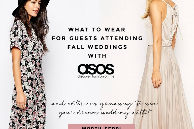 What to wear for guests attending Fall Weddings
