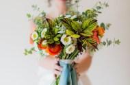 garden wedding inspiration bouquet