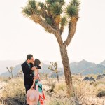 Studio DIY desert engagement