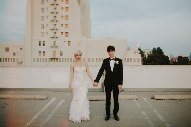 20s inspired wedding