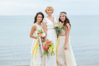 boho beach bridesmaids