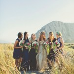 bridal soiree by the sea